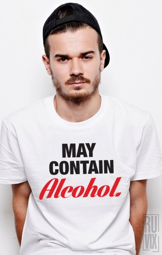 PROMOȚIE Tricou Alcohol