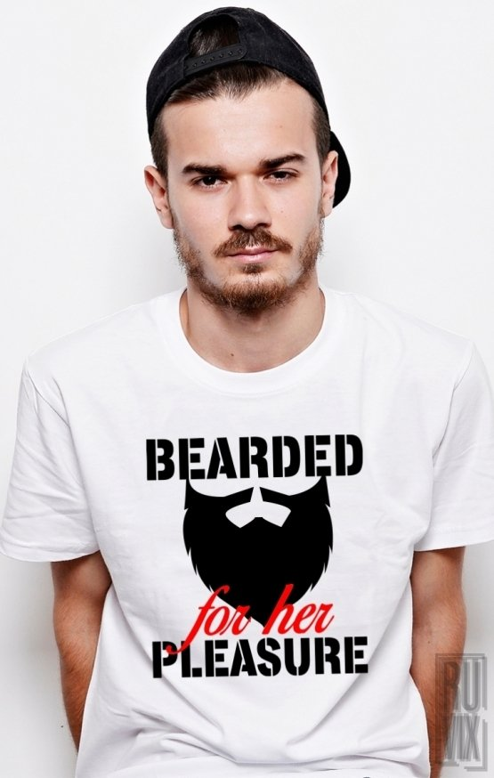 PROMOȚIE Tricou Bearded For Her