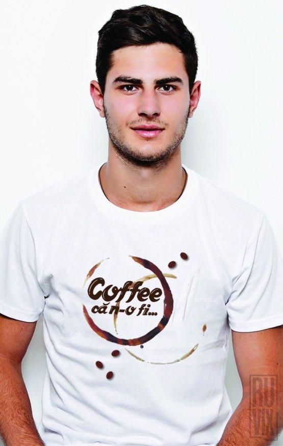 PROMOȚIE Tricou Coffee, că n-o fi
