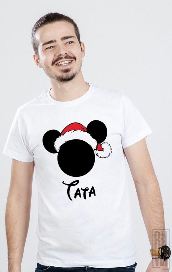PROMOȚIE Tricou Crăciun Mickey Tata