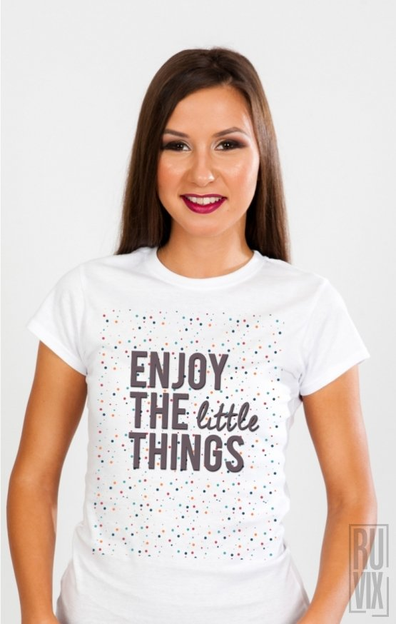 PROMOȚIE Tricou Enjoy Little Things