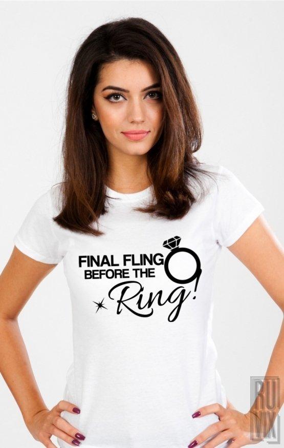 PROMOȚIE Tricou Final Fling