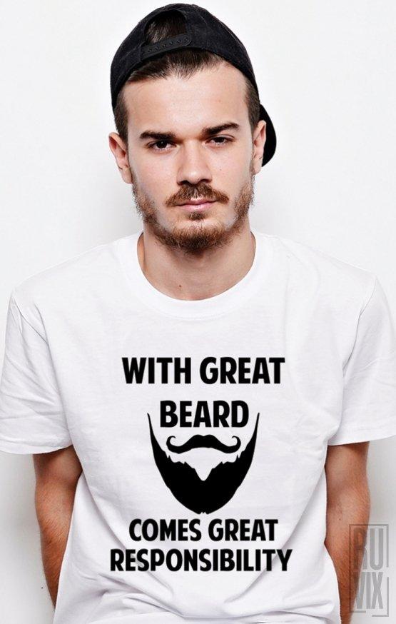PROMOȚIE Tricou Great Beard