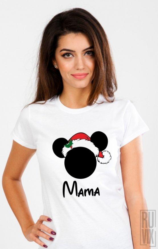 PROMOȚIE Tricou Mama Crăciun Mickey
