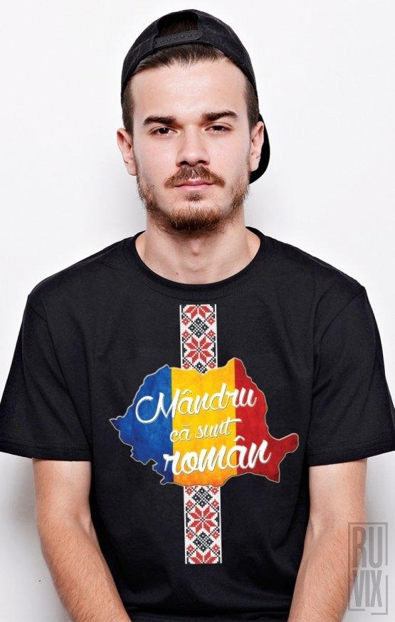 PROMOȚIE Tricou Mândru că sunt Român