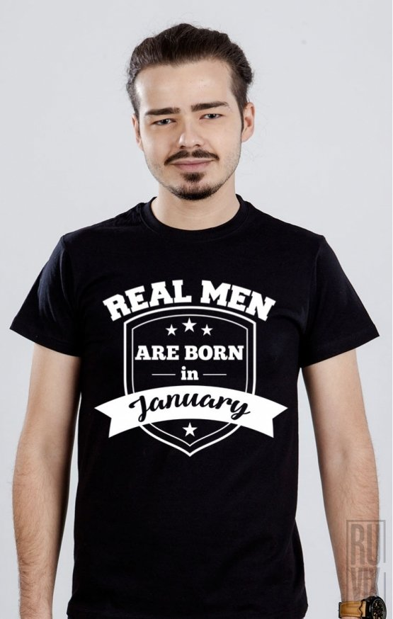 PROMOȚIE Tricou Real Men January