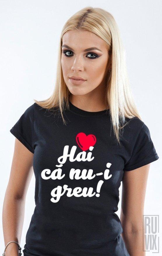 PROMOȚIE Tricou Te iubesc DAMĂ