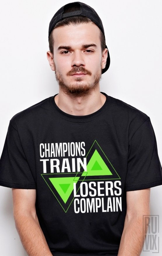 PROMOȚIE Tricou Train Champions