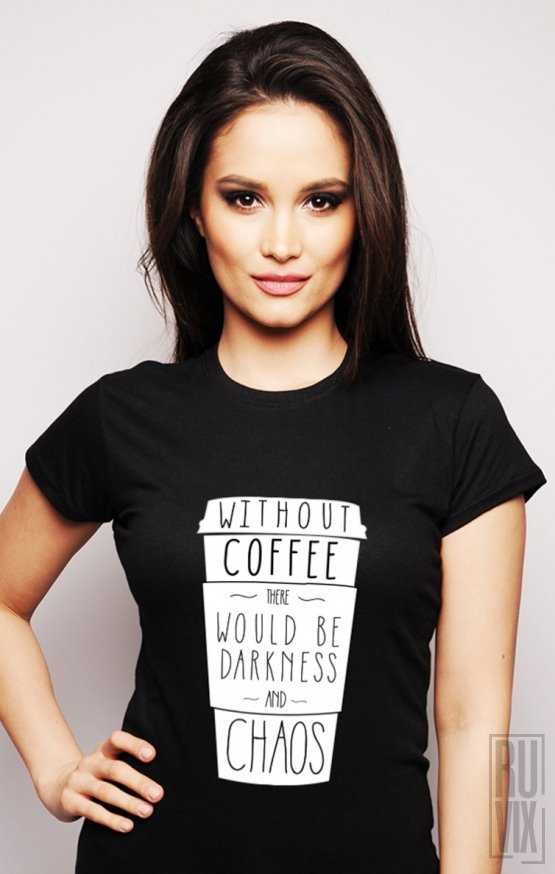 PROMOȚIE Tricou Without Coffee