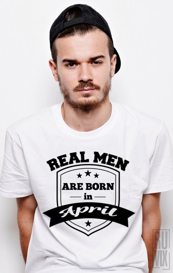 Tricou Real Men April
