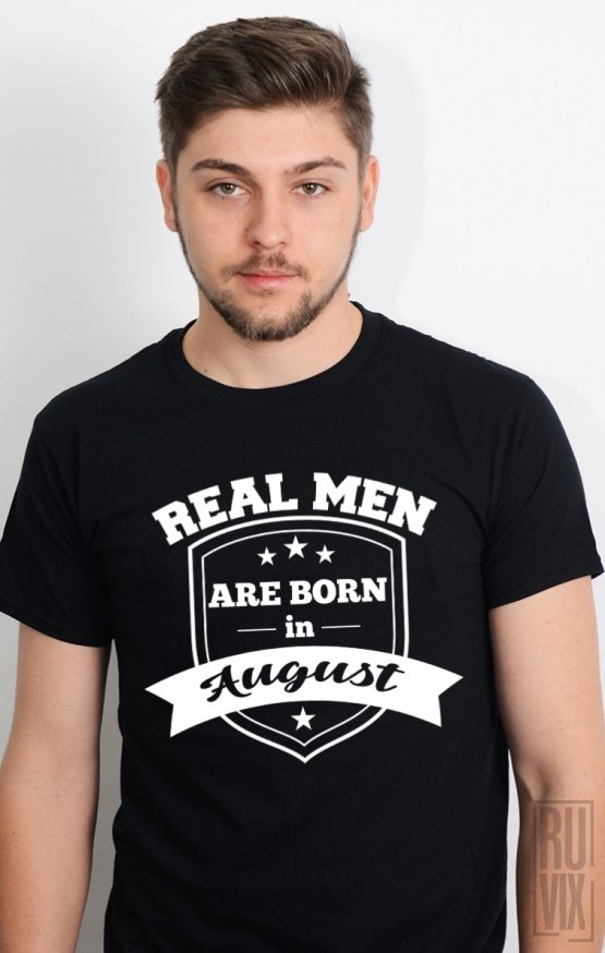 Tricou Real Men August