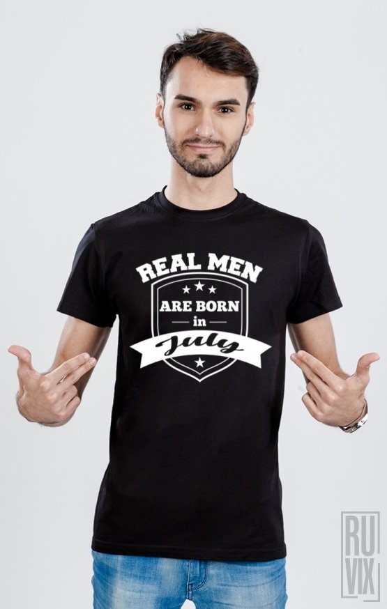 Tricou Real Men July