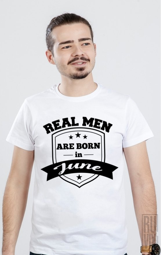 Tricou Real Men June