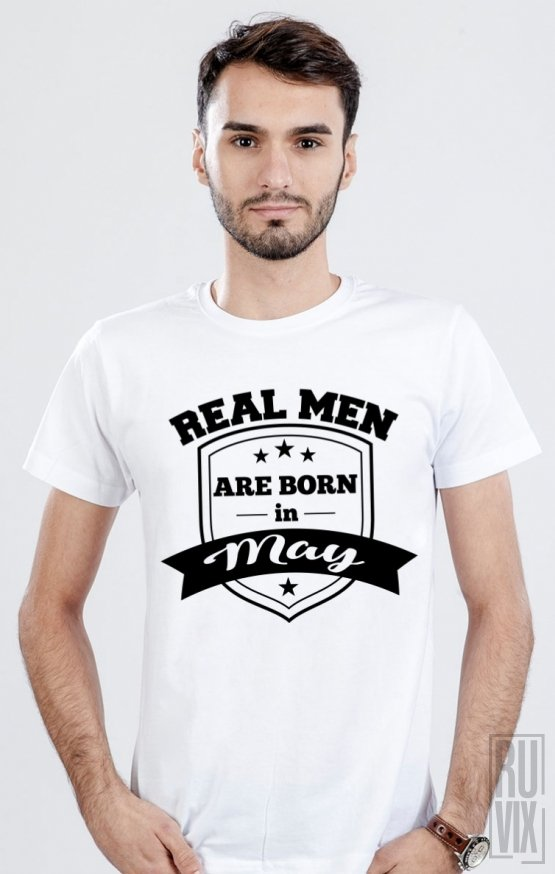 Tricou Real Men May