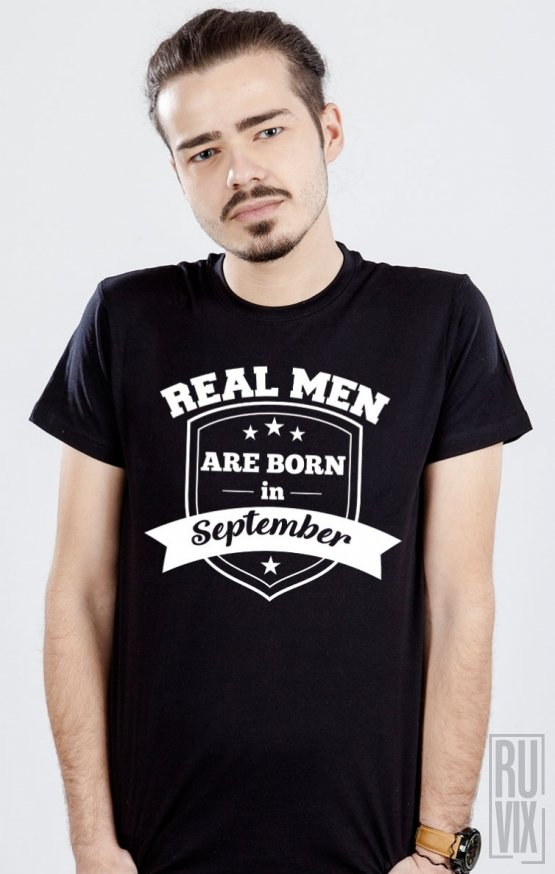 Tricou Real Men September