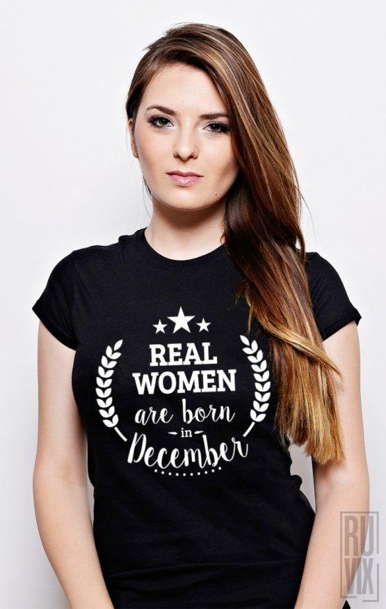 Tricou Real Women December