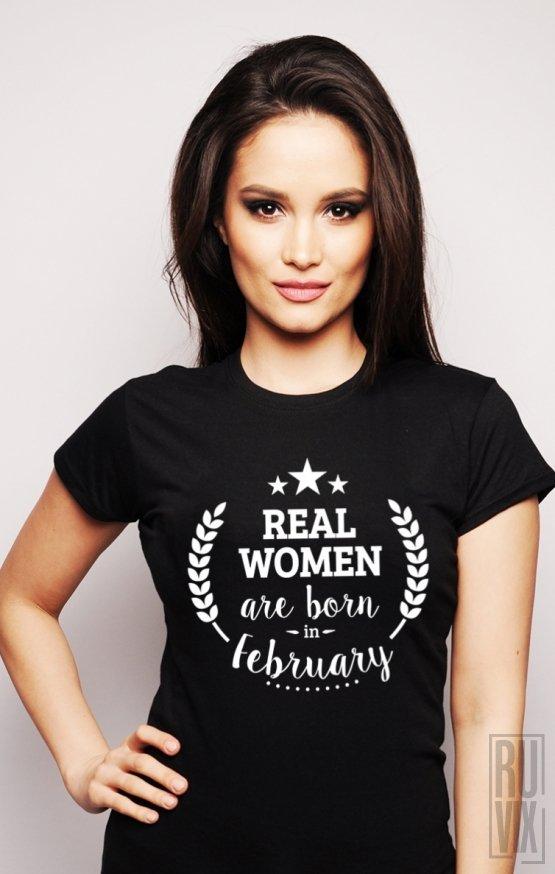 Tricou Real Women February