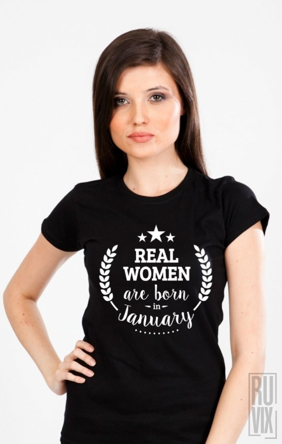 Tricou Real Women January