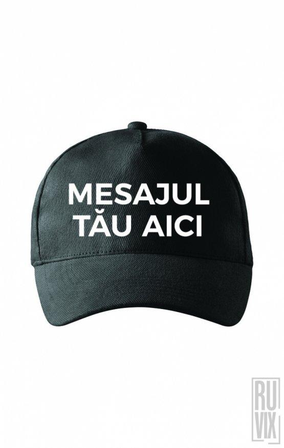Șapcă Cozoroc Rotund Personalizată