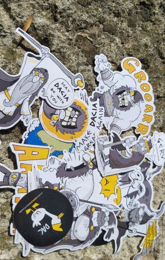 Set Stickere MAKE DACIA GREAT AGAIN