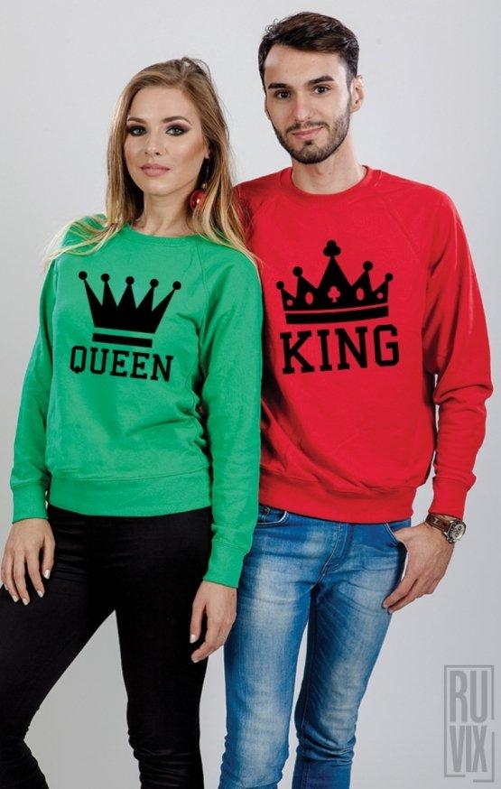 Set Sweatshirt King și Queen