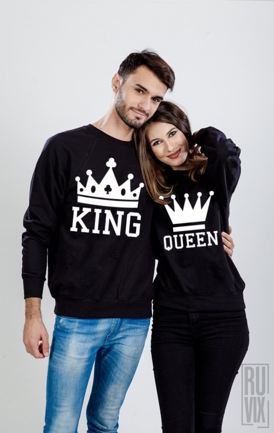 Set Sweatshirt King și Queen