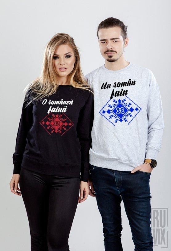 Set Sweatshirt Români Faini