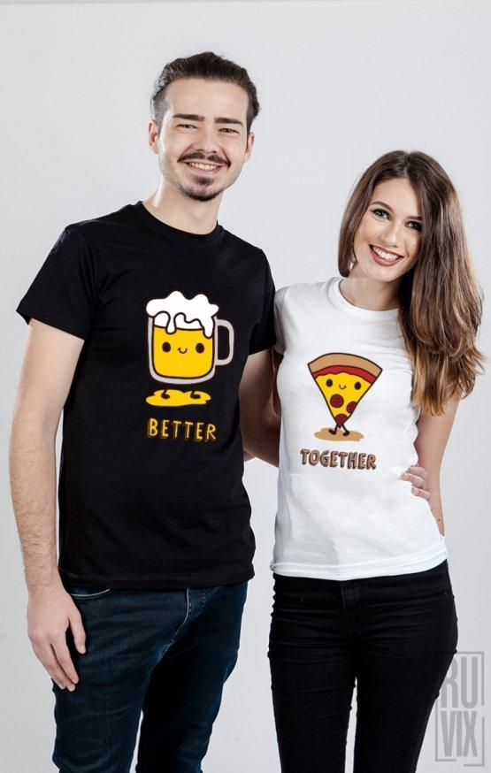 Set tricouri Beer & Pizza