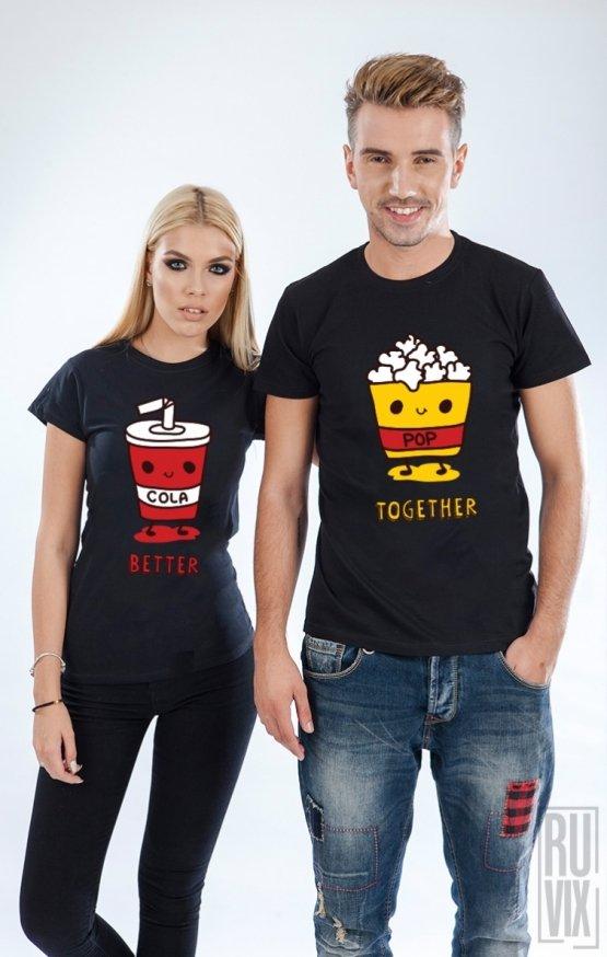 Set tricouri Cola & Popcorn