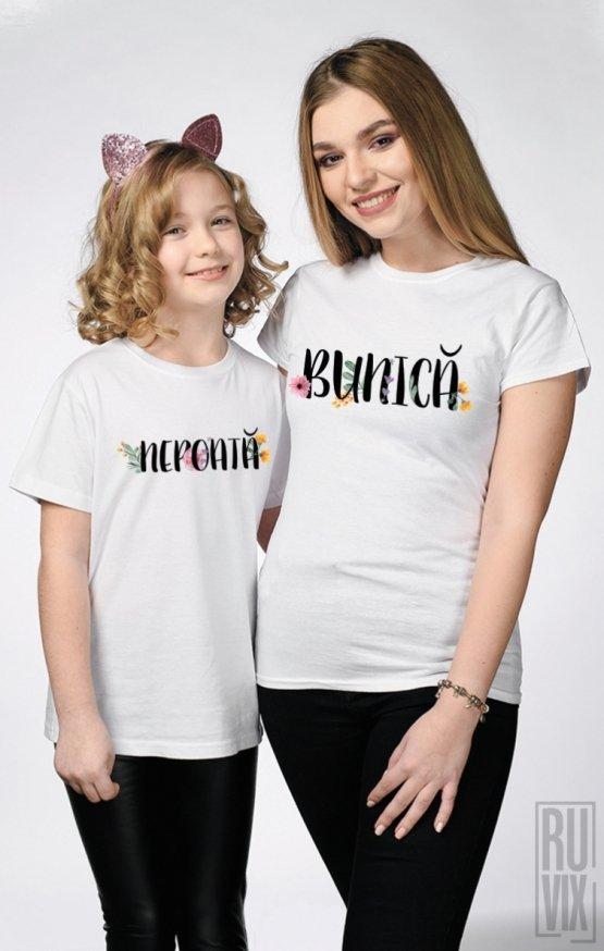 SET Tricouri Familie Bunică - Nepoată