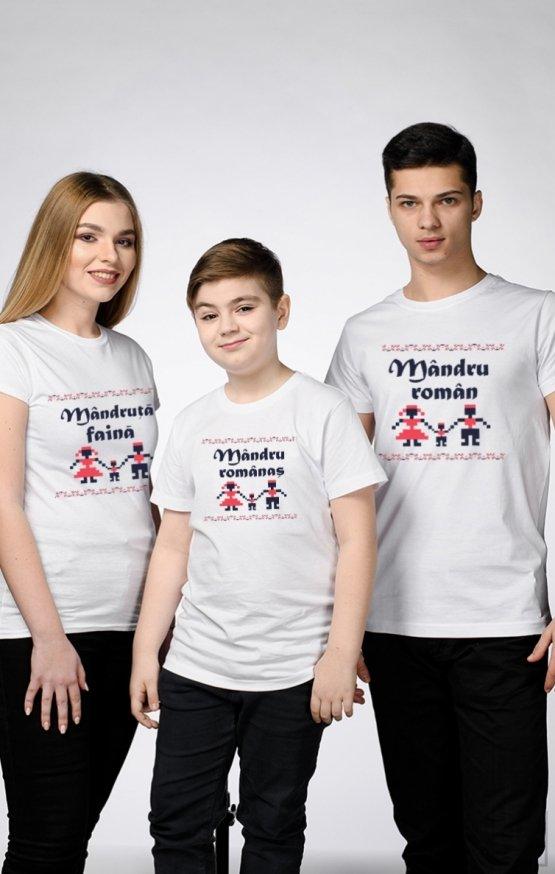 SET Tricouri Familie Mândră