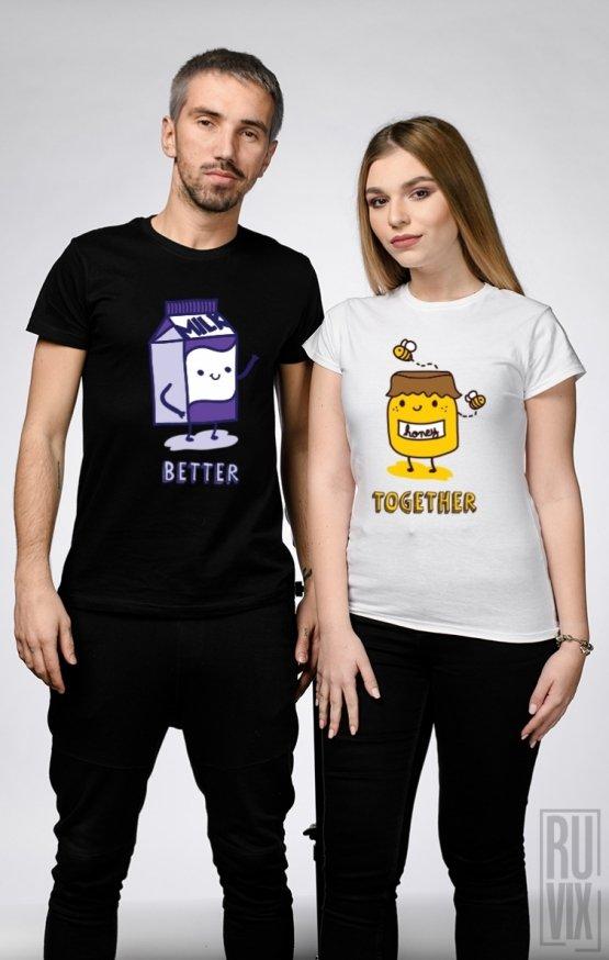 Set tricouri Milk & Honey