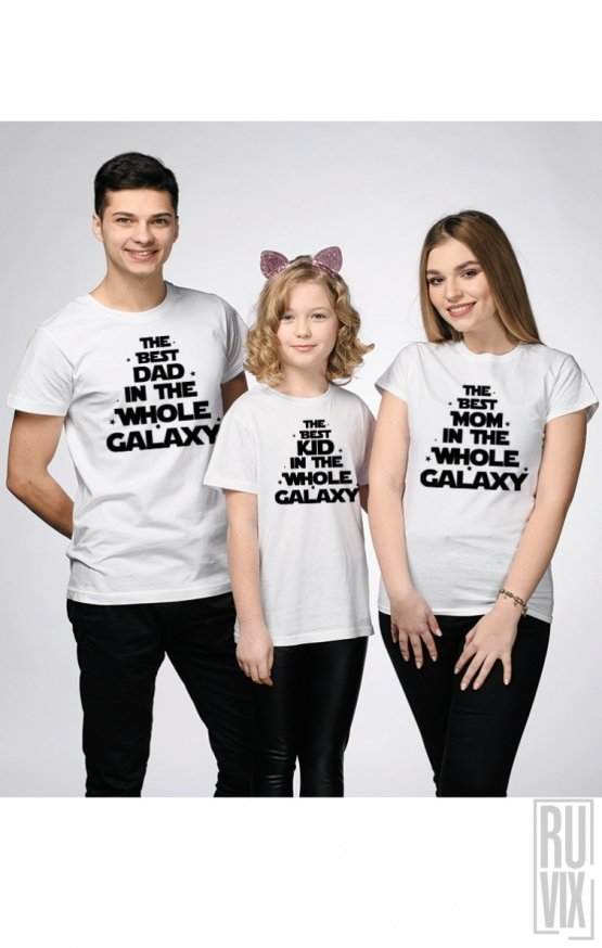SET Tricouri The Whole Galaxy