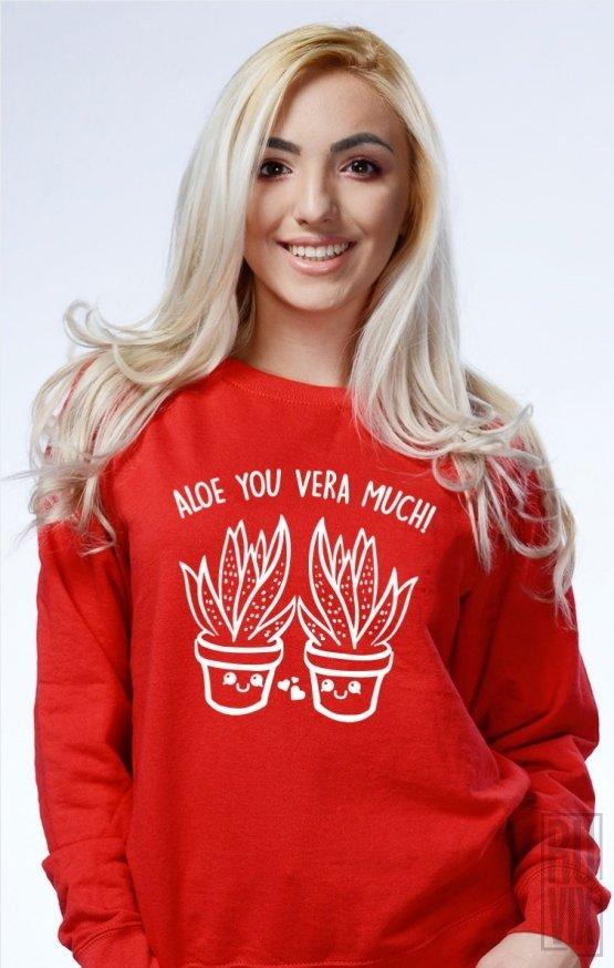 Sweatshirt Aloe Vera