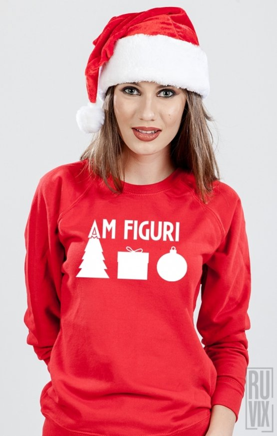 Sweatshirt Am Figuri De Craciun