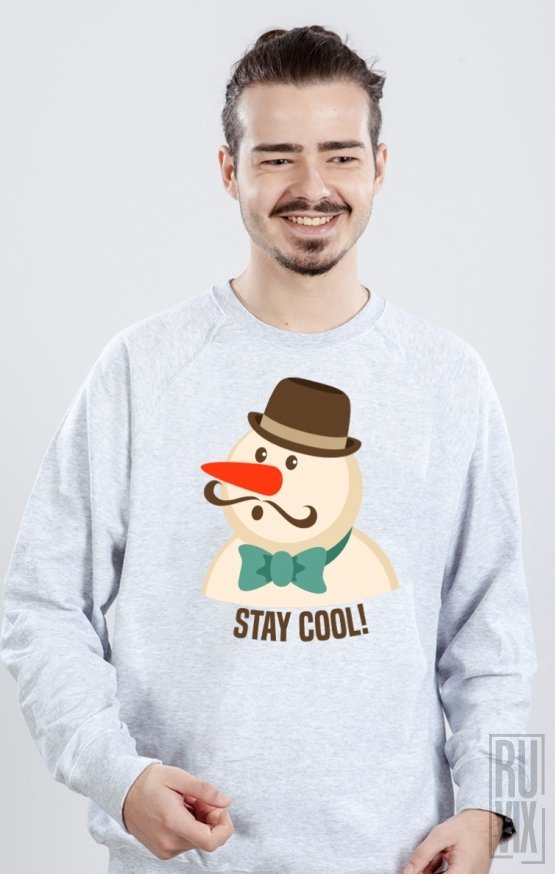 Sweatshirt Cool Snowman