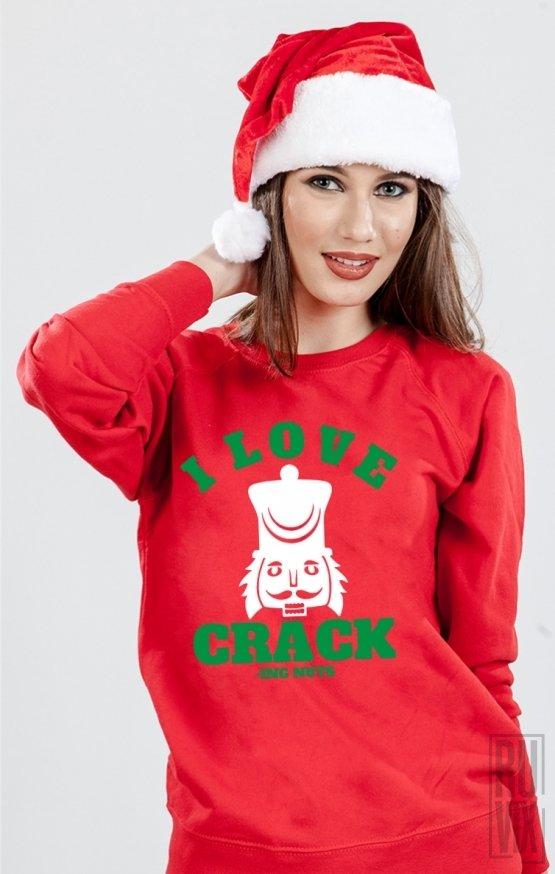 Sweatshirt Cracking Nuts