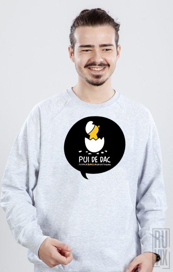 Sweatshirt GRI Pui de DAC