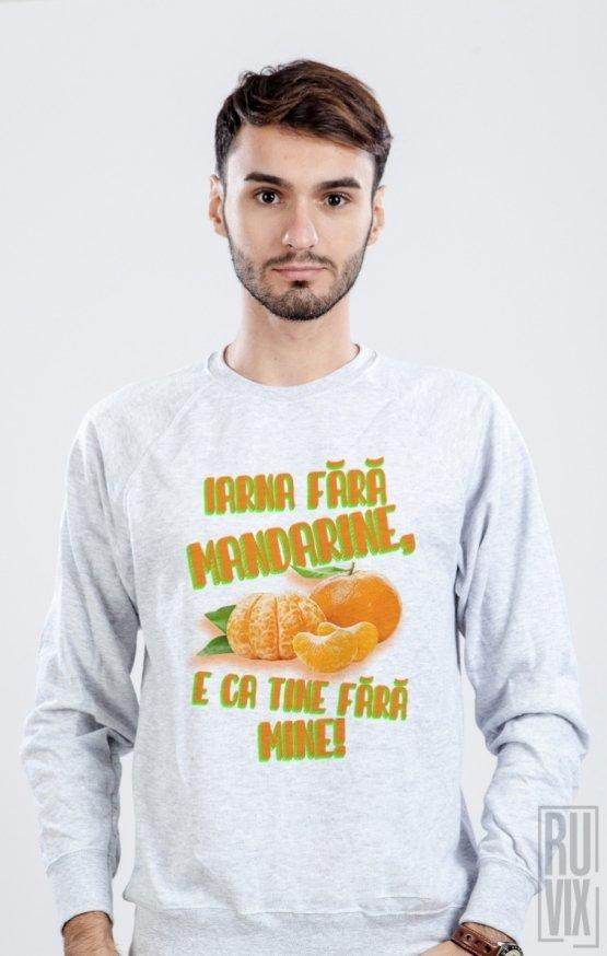 Sweatshirt Iarna Fără Mandarine