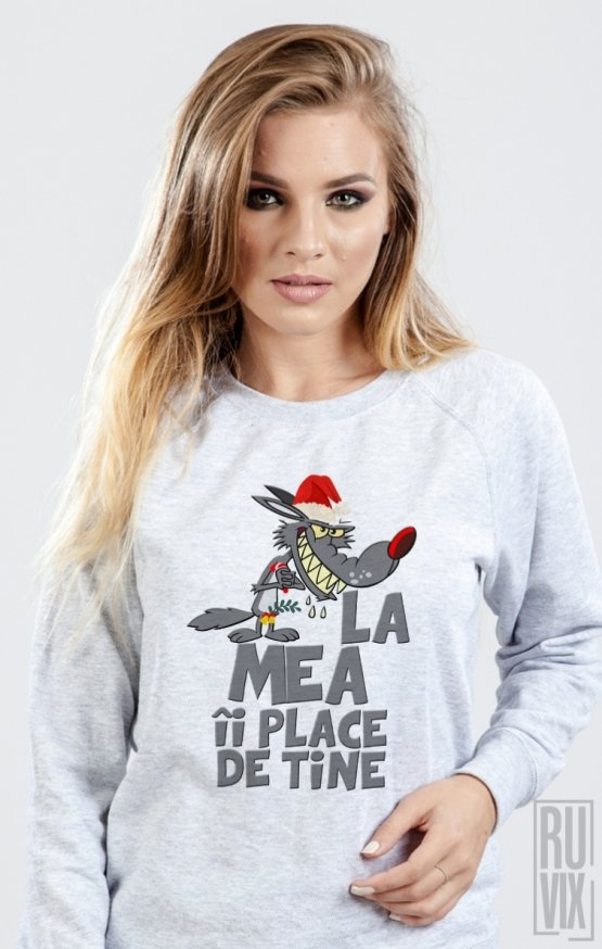 Sweatshirt Lupul De Craciun