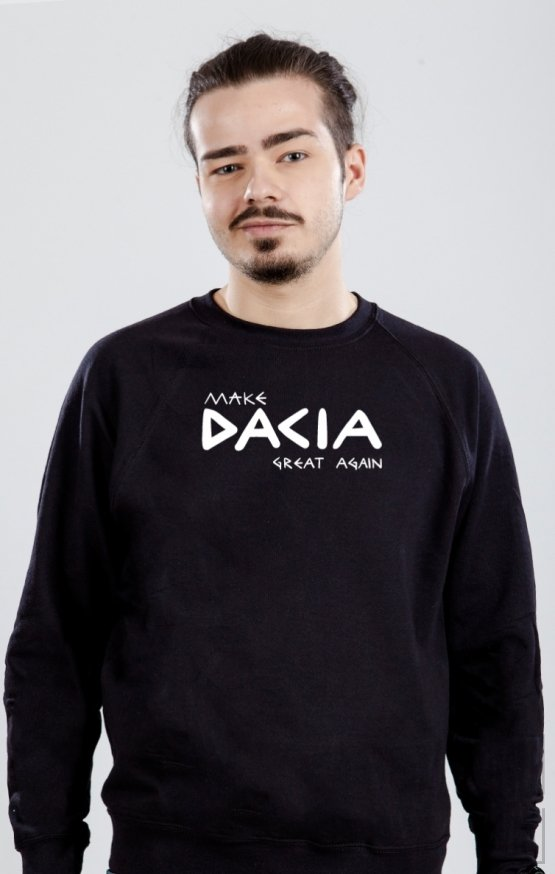 Sweatshirt MAKE DACIA GREAT AGAIN MONOCROM