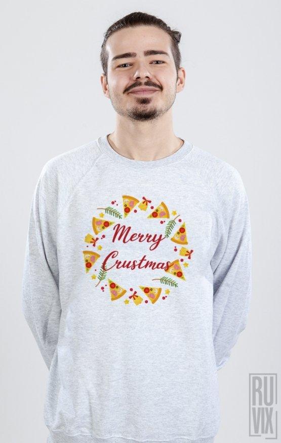 Sweatshirt Merry Crustmas