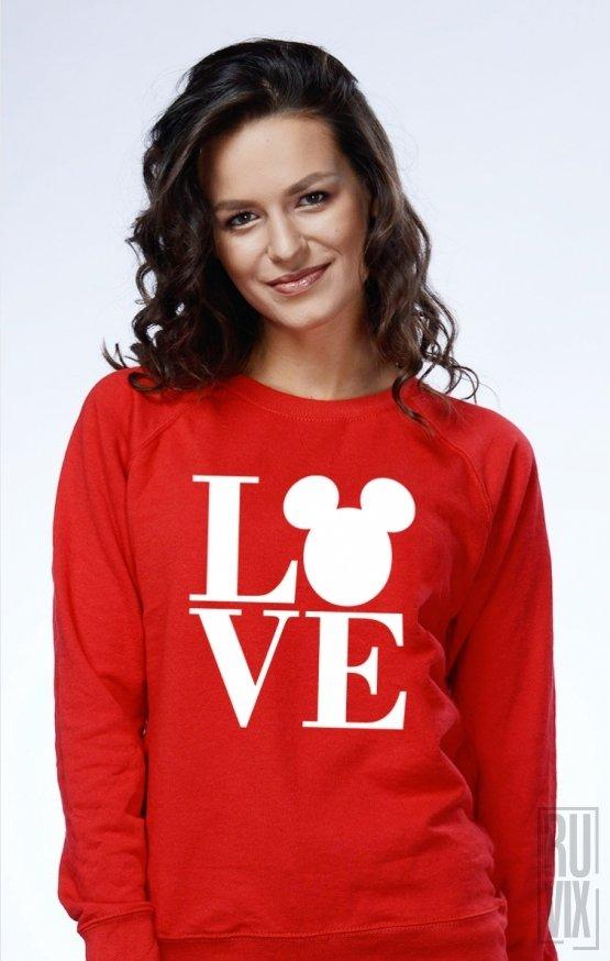 Sweatshirt Mickey Love