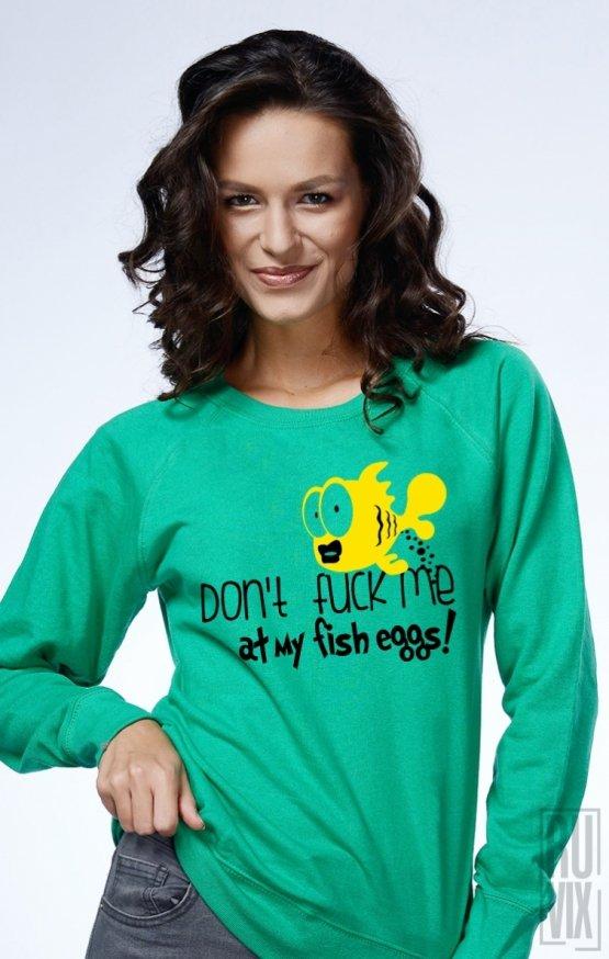 Sweatshirt Nu Mă F##e La Icre