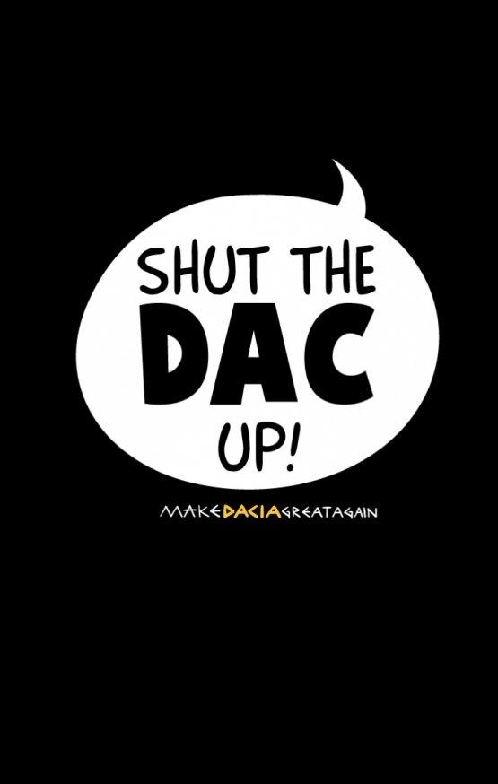 Sweatshirt SHUT THE DAC UP