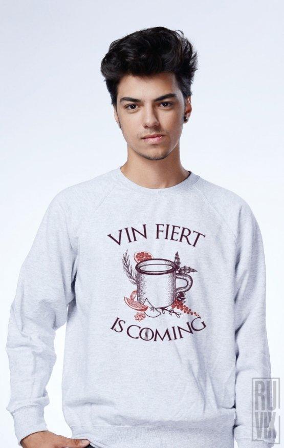 Sweatshirt Vin Fiert Is Coming