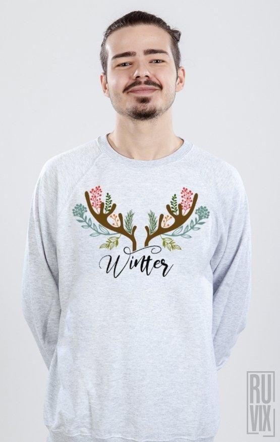 Sweatshirt Winter Horns