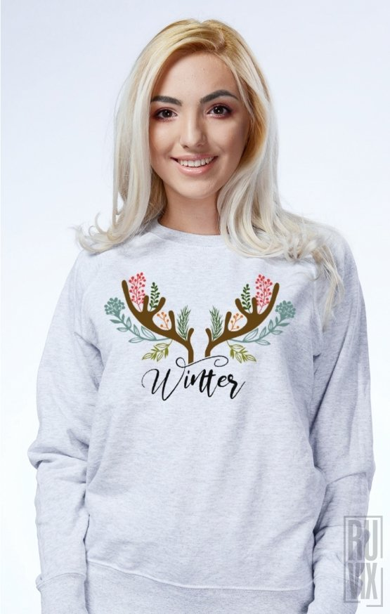 Sweatshirt Winter Horns