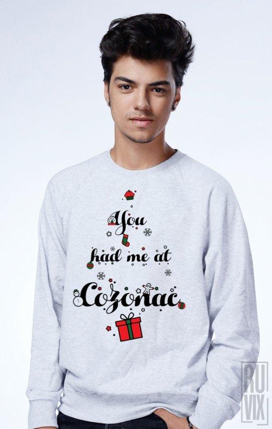 Sweatshirt You Had Me at COZONAC