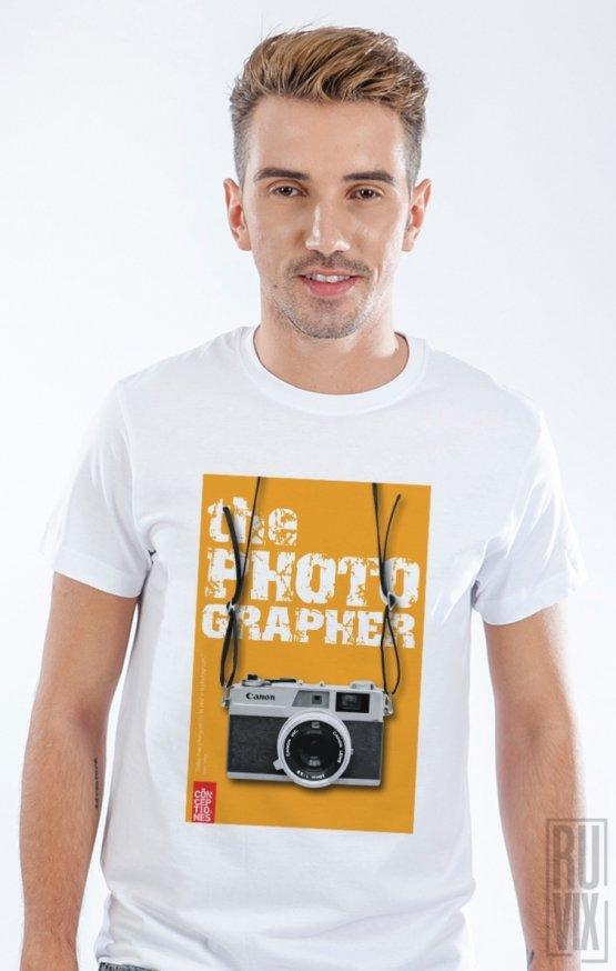 Tricou Alb The Photographer 5